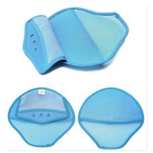 額部分のタオルが広い、濡れたタオル入れるポケットあり、ヘルメットの安全帽1枚、、暑さ対策、汗を取る安...