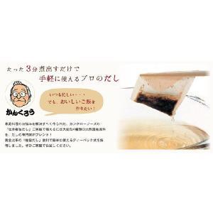 ヤマトDM便で【送料無料!】伝承極旨だし 10P入り 天然だしパック ※代引きは出来ません。※配送時間指定は出来ません。|kankuro-dashi|02