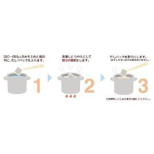 ヤマトDM便で【送料無料!】伝承極旨だし 10P入り 天然だしパック ※代引きは出来ません。※配送時間指定は出来ません。|kankuro-dashi|03