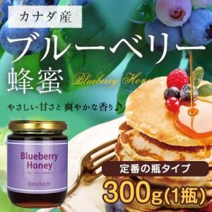 ブルーベリー蜂蜜 カナダ産 300g はちみつ専門店 かの蜂|kanohachi