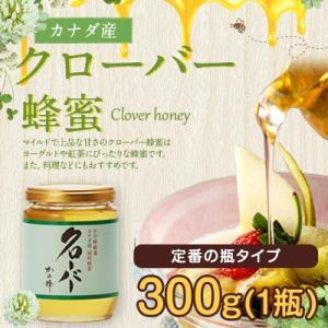 クローバー蜂蜜 カナダ産 厳選 クローバー 蜂蜜 300g はちみつ専門店 かの蜂|kanohachi