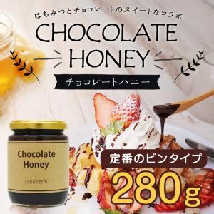 蜂蜜 国内加工品チョコレートハニー280g はちみつ専門店 かの蜂