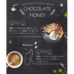 蜂蜜 国内加工品チョコレートハニー280g はちみつ専門店 かの蜂|kanohachi|03
