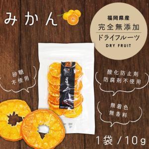 フルーツ王国福岡県八女市のみかんを専用乾燥機で約17時間かけじっくり乾燥!香り、旨味、栄養素をギュッ...