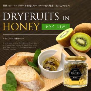 ドライフルーツインハニーキウイ125g ドライフルーツの蜂蜜漬け はちみつ専門店 かの蜂|kanohachi