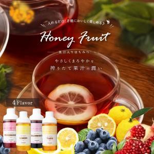果汁入りはちみつ 500g 1本 単品 果汁蜜 ブルーベリー ザクロ レモン 蜂蜜 はちみつ 蜂蜜専門店 かの蜂|kanohachi|02
