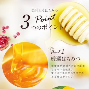 果汁入りはちみつ 500g 1本 単品 果汁蜜 ブルーベリー ザクロ レモン 蜂蜜 はちみつ 蜂蜜専門店 かの蜂|kanohachi|05
