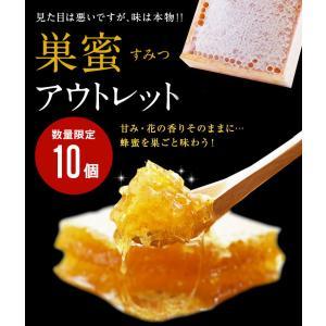 ハチの日 数量限定 巣蜜 箱なし 訳あり B級品  国産 熟成巣みつ  蜂蜜専門店 かの蜂|kanohachi