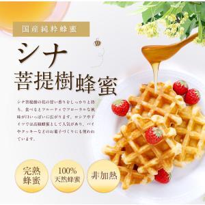 国産シナ蜂蜜 菩提樹蜂蜜 しな蜂蜜  蜂蜜 300g ハチミツ専門店 かの蜂 kanohachi 02