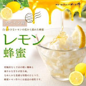 レモン蜂蜜 スペイン産 300g はちみつ専門店 かの蜂|kanohachi|02