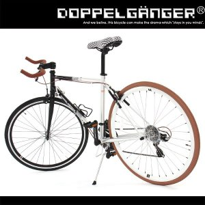 クロスバイク 826 ドッペルギャンガー 軽量 700C 21段変速 ブルホーン 折りたたみ 激安自転車 kanon-web