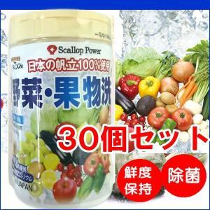 野菜洗い・くだもの洗い 100gボトル×30本(果物 農薬除去 除菌 安全 野菜洗浄 野菜くだもの洗い) kanon-web