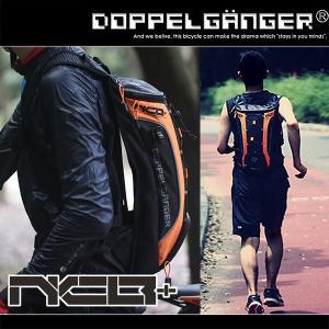 ランニング バックパック ジョギング ポーチ バッグ サイクリング ハイドレーション リュックサック 自転車 鞄 ドッペルギャンガー バックパックプラス