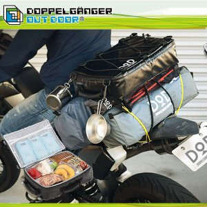 保冷バッグ おしゃれ 大きめ 大容量 クーラーバッグ 折りたたみ サイクルバッグ バイク ドッペルギ...