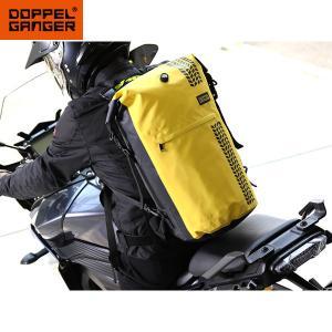 DOPPELGANGER ターポリンデイバッグ DBT420-YL シートバッグ バイク 防水 大容...