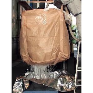 コンテナバック 丸型 ハイパー 水切り用 500kg 20枚 M-05DOW Hyper|kanryu|02