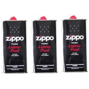 ZIPPO(ジッポー) Zippo オイル缶 【大缶355ml】 3本セット|kanta-store