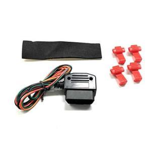 OBD2コネクター OBD-IIアダプター(汎用タイプ) CANBUS車用 シガーソケットのない車から12ボルト電源(常時電源)やアースを簡単に取れる kanta-store