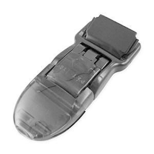 ホークアイ フィッシュクリップ 10本入り (ブラック)縫製不要なワンタッチ装着機能|kanta-store