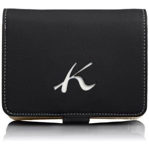 [キタムラ] 二折財布 天然素材独特の風合い PH0334 ダークブルー/ホワイトステッチ [紺] 10901 kanta-store
