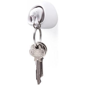 QUALY 鍵収納 ポーラーベアー キーリング ホワイト 5217048WH|kanta-store