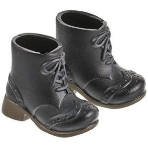 オビツボディ 11cmボディ用ショートブーツ 黒|kanta-store
