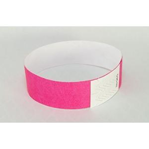 Event Wristband 使い捨てリストバンド(100枚)19mm幅 イベント、フェス、ライブ、クラブ、ビーチイベントの人数カウント,再入場管理 kanta-store