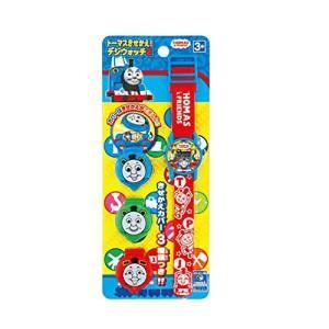 きかんしゃトーマス 腕時計 きせかえデジウォッチ2 子供用 レッド|kanta-store