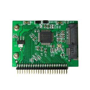 mSATA(mini SATA) SSD → 2.5インチIDE(5V) 44pin変換アダプタ kanta-store