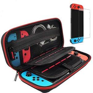 【Nintendo Switch対応】switch用 ケース スイッチケース 収納バッグ 大容量 保護カバー ポーチ ナイロン素材 防塵 防汚 耐衝撃|kanta-store