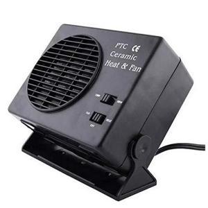 Dewin セラミックヒーター、車載ファンヒーター、暖房風防デフロスター デミスタ 300W 12V kanta-store