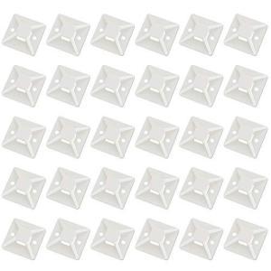 パンドウイット、MAVEEK マウントベース 結束バンド ケーブルタイ 固定 ベース 配線 固定具 強力粘着テープ付き 耐熱 耐候性 28mm×28m|kanta-store