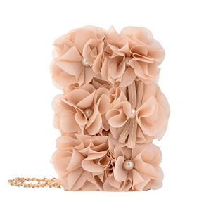 iPhone 11ケース,6.1インチ手帳型カバー,華奢な財布型,和装小物,立体花球デザイン,女性のハンドバッグ - ベージュのバラ kanta-store
