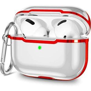 airpods pro ケース シリコン 透明 エアポッツプロ ケース 全面保護 カバー air pods pro ケース かわいい 防水耐衝撃 えあ kanta-store
