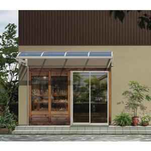アルミテラス屋根 ヴェクター持出し屋根 アール型 600N 1間2尺 kantoh-house