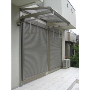 テラス屋根 ヴェクター持出し屋根 フラット型 600N 0.5間3尺 YKKap エクステリア kantoh-house