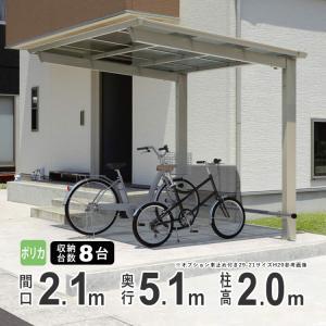 サイクルポート 自転車置場 DIY セルフィ ミニタイプ5121 H20 三協アルミ|kantoh-house