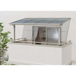 2階用 アルミテラス屋根 ヴェクター躯体式バルコニー屋根フラット 600N 1.5間6尺 YKKapエクステリア kantoh-house