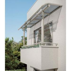 ベランダ 屋根(テラス屋根) ヴェクター躯体式バルコニー 屋根 アール 600N 1.5間3尺セット ykkap エクステリア kantoh-house