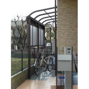 アルミテラス屋根 ヴェクターテラス屋根 YKK アール 2.0間4尺 柱標準タイプ 600N 熱線遮断屋根|kantoh-house