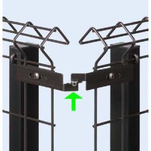 イーネットフェンス 1F型用 コーナー部品 YKKapエクステリア|kantoh-house