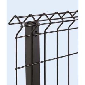 フェンス自由柱 イーネットフェンス 1F型 T60 スチール自由柱 YKK AP フェンス本体と同時購入で地域限定送料無料|kantoh-house