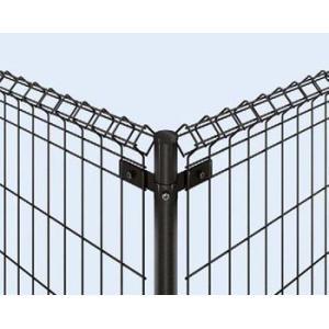 YKK ap イーネットフェンス 1M型 T60 スチール間仕切柱 角柱 フェンス本体と同時購入で地域限定送料無料|kantoh-house