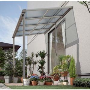 アルミテラス屋根 ヴェクターテラス屋根 YKK フラット 1.5間2尺 柱標準タイプ 600N エクステリア|kantoh-house