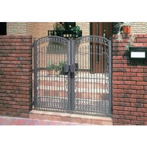 門扉 Ykk ap 鋳物門扉 セレネス4型 両開き 門柱タイプ 0914|kantoh-house