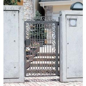 門扉 Ykk ap 鋳物門扉 ルナシス1型 片開き 門柱タイプ 0914|kantoh-house