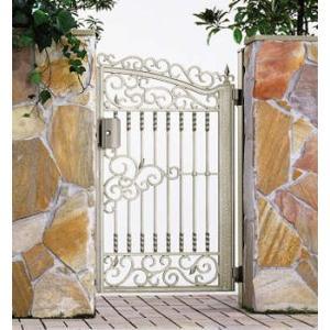 門扉 Ykk ap 鋳物門扉 ルナシス2型 片開き 門柱タイプ 0914|kantoh-house
