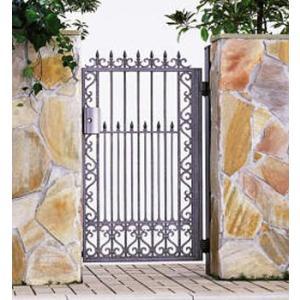 門扉 Ykk ap 鋳物門扉 ルナシス3型 片開き 門柱タイプ 0914|kantoh-house