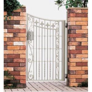 門扉 Ykk ap 鋳物門扉 セレネス2型 片開き 門柱タイプ 0914|kantoh-house