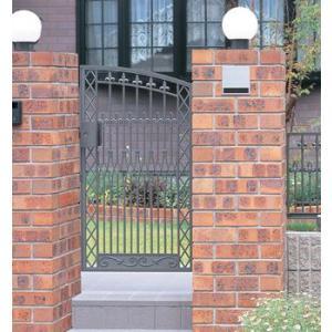門扉 Ykk ap 鋳物門扉 セレネス3型 片開き 門柱タイプ 0914|kantoh-house